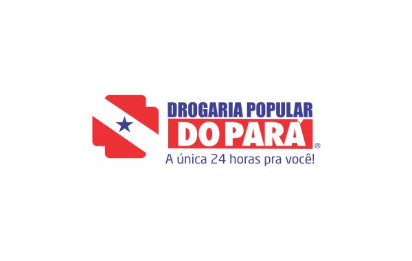 Logo Drogaria Popular do Pará